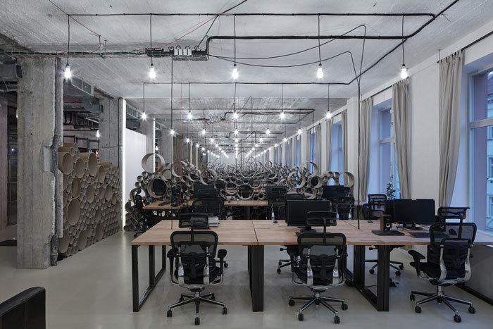 重庆工厂办公室装修改造案例赏析