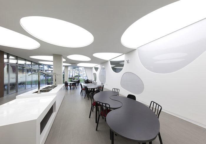 重庆食品厂办公室装修效果图赏析