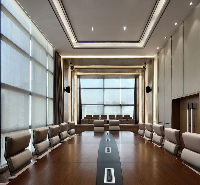 重庆药业制药公司办公室设计效果图赏析