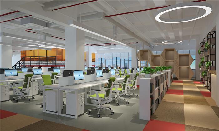 重庆办公楼装修设计效果图赏析
