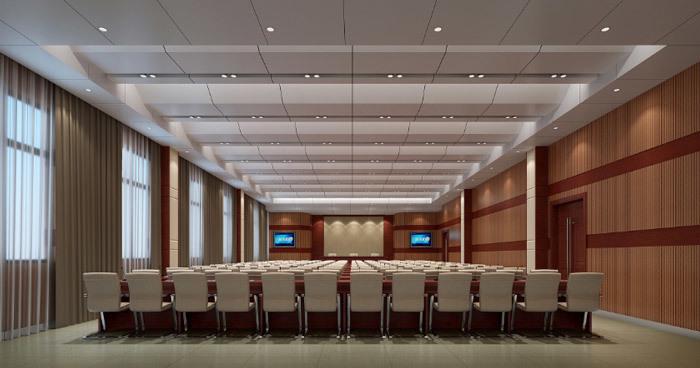 政府办公楼装修效果图赏析