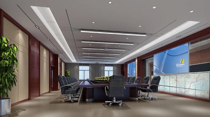 政府办公楼装修设计效果图赏析