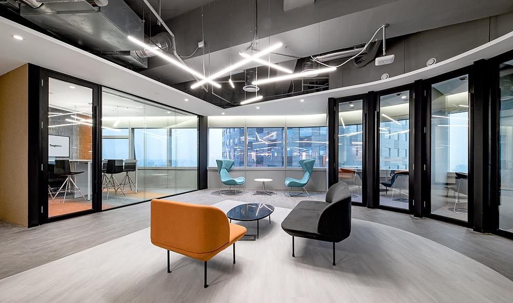 工业风办公室装修设计效果图赏析