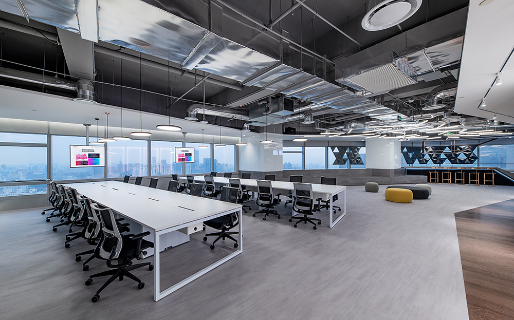 重庆工业风办公室装修设计赏析