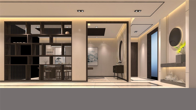 超美中式禅意办公室装修设计赏析