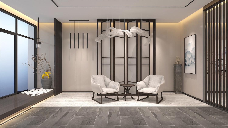 重庆中式禅意办公室装修设计赏析