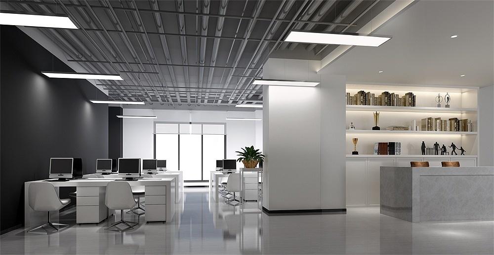 中国石化高档办公室装修设计效果图赏析