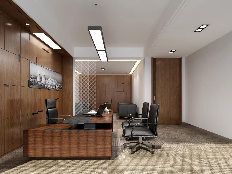 简约办公室设计